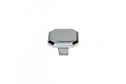 KB-M-3920-34-C Ручка-кнопка, отделка хром глянец