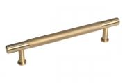 HN-B-4155-128-BSB Ручка-скоба 128мм, отделка золото шлифованное