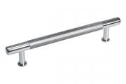 HN-B-4155-128-C Ручка-скоба 128мм, отделка хром глянец