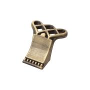 RK-098 MAB Ручка-кнопка,атласная бронза