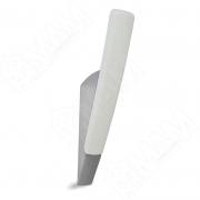 Z-5415.T1-G2 SALIX Крючок однорожковый хром/белый