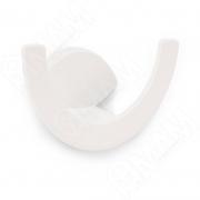 Z-5426.P60 ARTO Крючок двухрожковый белый