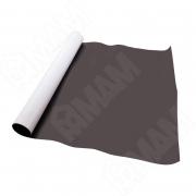 MAGVINIL/N Магнитный винил с клеевой основой, 1х0,605 м, толщина 0,7 мм, темно-коричневый