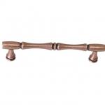 Ручка-скоба 128мм, отделка медь античная кантри WMN.766X.128.M00C1
