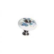 Ручка-кнопка, отделка железо + керамика SP81/38PF34ZN29JE17