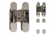 CI001131NIK00 Петля скрытая для дверей и фасадов толщиной от 40мм, отделка никель