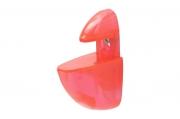 T006 Пеликан прозрачный малый, розовый Комплект-2.штуки