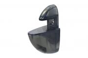 T006 Пеликан прозрачный малый, чёрный Комплект-2.штуки