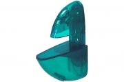 T009 Пеликан прозрачный большой, зелёный Комплект-2.штуки