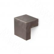 KH.01.016.MBBN Ручка-кнопка 16мм черный никель брашированный