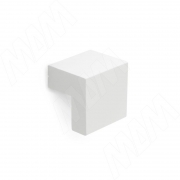 KH.01.016.WTM Ручка-кнопка 16мм белый матовый