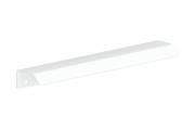 RT.01.0196.9010 Ручка-профиль накладная L.196мм, отделка белый бархат (матовый)