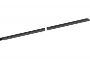 RT.01.1196.9005 Ручка накладная 1196мм, отделка черный бархат (матовый)