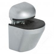 SU02AGREY ПЕЛИКАН Менсолодержатель для деревянных и стеклянных полок 4 - 22 мм, хром матовый
