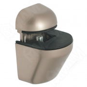 SU02ANSAT ПЕЛИКАН Менсолодержатель для деревянных и стеклянных полок 4 - 22 мм, никель матовый