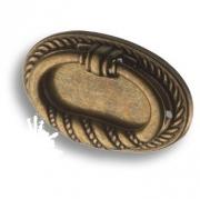 02.0219.B Ручка кольцо на подложке, старая бронза