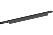 RT.02.596.9005#RT.02.0596.9005 Ручка накладная 596мм, отделка черный бархат (матовый)