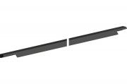 RT.02.1196.9005 Ручка накладная 1196мм, отделка черный бархат (матовый)