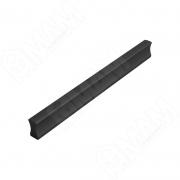 PH.RU02.128.BL Профиль-ручка 128мм черный матовый