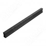 PH.RU02.160.BL Профиль-ручка 160мм черный матовый