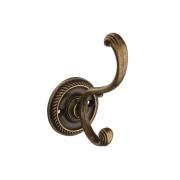 KR 0280 OAB Мебельный крючок, оксидированная бронза