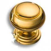 0712-003 Ручка кнопка латунь глянцевое золото