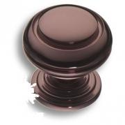 0712-004 Ручка кнопка латунь графит