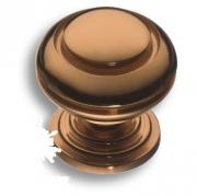 0712-008 Ручка кнопка латунь медный