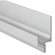 PH.RU07.3000.ALPR Профиль-ручка врезная для фасада 16/18мм, алюминий матовый, L-3000мм