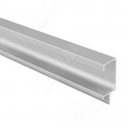PH.RU08.3000.ALPR Профиль-ручка врезная для фасада 18мм, алюминий матовый, L-3000мм