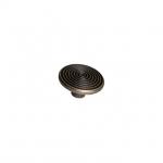 Ручка-кнопка, отделка бронза античная 6130/831