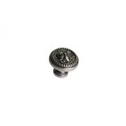 Ручка-кнопка, отделка никель античный KB-M-3804-32-NP