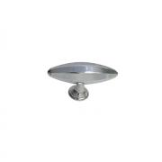 Ручка-кнопка, отделка хром глянец KB-M-3918-73MM-C