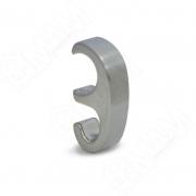WK1007 Крючок однорожковый нерж. сталь для рейлингов RE