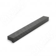 PH.RU10.128.BL Профиль-ручка 128мм черный матовый
