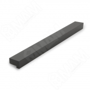 PH.RU10.160.BL Профиль-ручка 160мм черный матовый