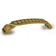 Ручка-скоба 128мм бронза состаренная 1019.128.23