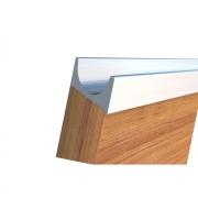 Профиль-ручка под пропил, L=5000мм, отделка сталь нержавеющая 900451.67.00 5000.0