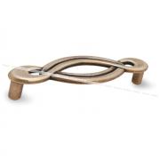 Ручка-скоба 96мм бронза состаренная 1022.96.23