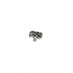 Ручка-кнопка, отделка старое серебро с блеском WPO.707Y.000.M00E8