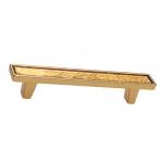 Ручка-скоба 96мм, отделка золото люкс 15.138.96.VS05.19