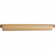 Ручка-скоба 192мм, отделка золото матовое 6131/200