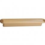 Ручка-скоба 128мм, отделка золото матовое 6132/200