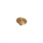 Ручка-кнопка, отделка золото матовое 6130/200