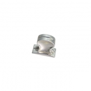 Ручка-кнопка, отделка серебро блестящее 24140.044S