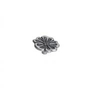 Ручка-кнопка, отделка старое серебро с блеском WPO.676Y.040.M00E8
