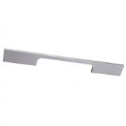 Ручка-скоба 192 мм, отделка сталь шлифованная 218192.ABS2