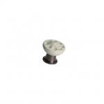 MA.4701.48 Ручка-кнопка, отделка бронза темная + керамика MA.4701.48
