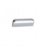 Ручка-скоба 64мм, отделка хром глянец + белый CH0103-064.PC/WH