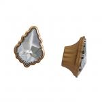 Ручка-кнопка, отделка золото матовое 24274Z04200.46